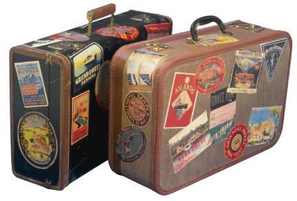 Cerrando las maletas
