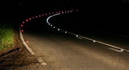 Las luces de la carretera